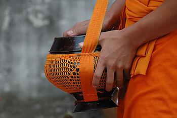 Begging-monk